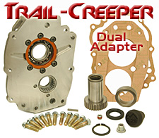 Trail-Creeper Case 21 Spline Dual Case Adapter