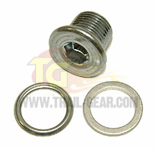 Magnetic Drain Plug w/Steel Washer