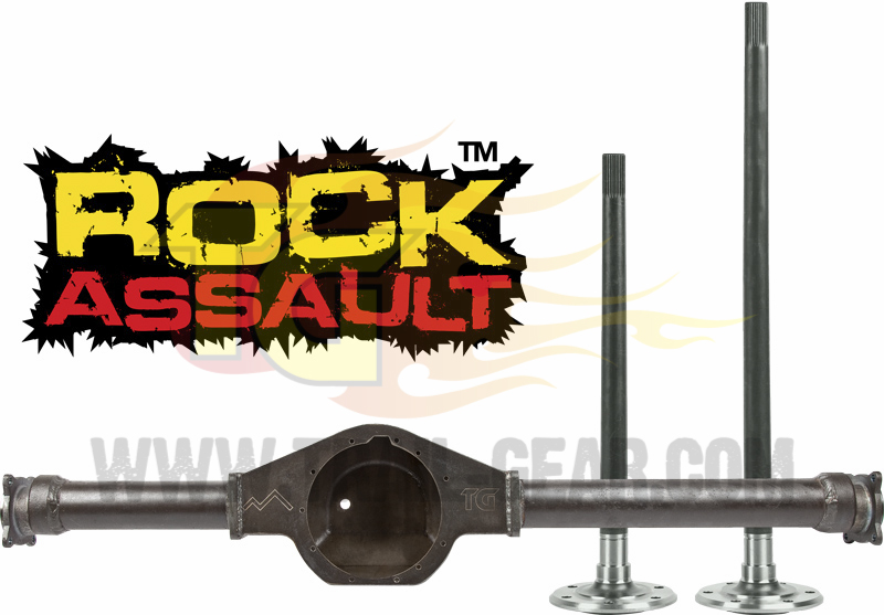 Samurai Rock Assault Axle Housing Kit