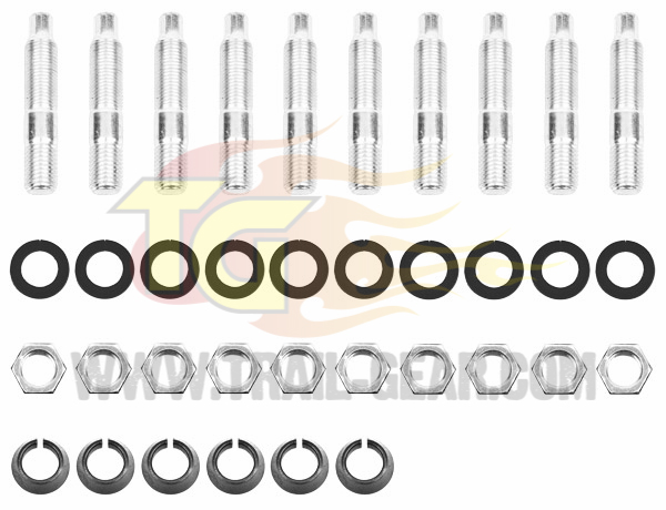 TG Super Metal Knuckle Studs Hardware Kit (per knuckle)
