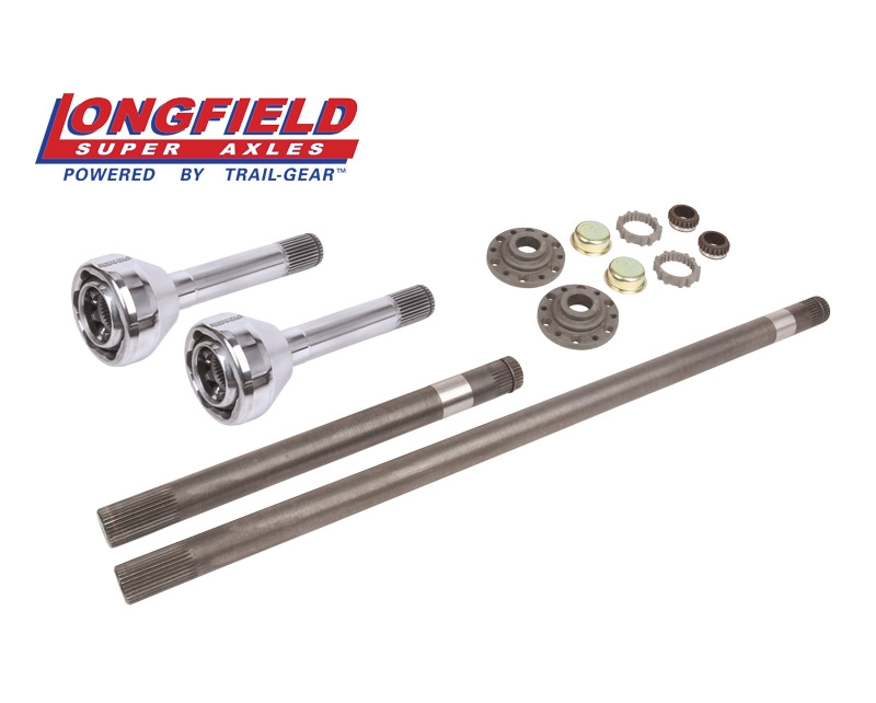 Longfield 30 Spline Birfield/Axle Super Set (+5 Pickup/4runner), Gun Drilled