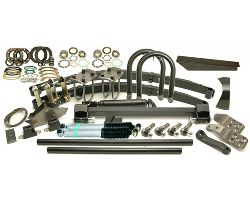 Kit Classic Front Lift 5'' Hd Springs 14'' Shocks Rhd 6-Stud Arms Drop Pitman 5.0'' Shackle