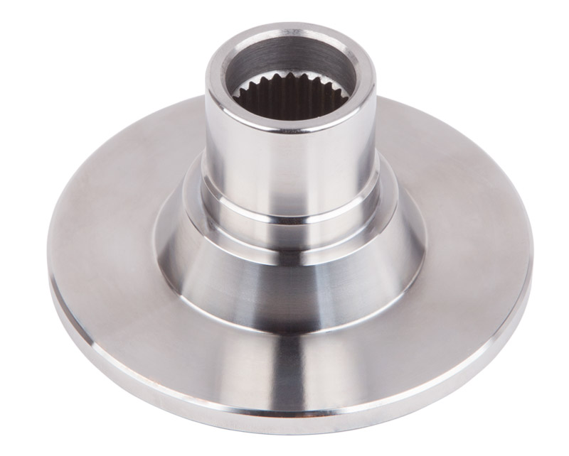 Output Flange, Blank, W/T-case dust shield