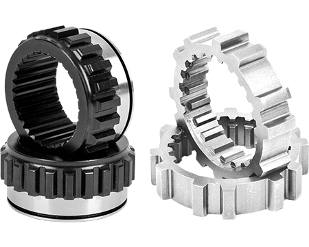 Longfield Chromoly Inner/Outer Hub Gear Pair Solid Axle