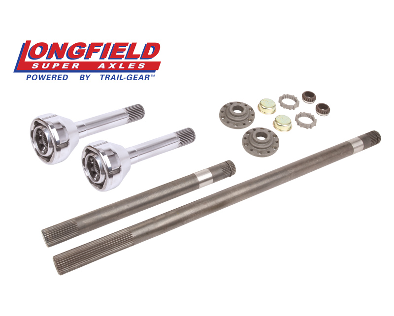 Longfield 30 Spline Birfield/Axle Super Set (Long Spline E-Locker) (FJ 60)