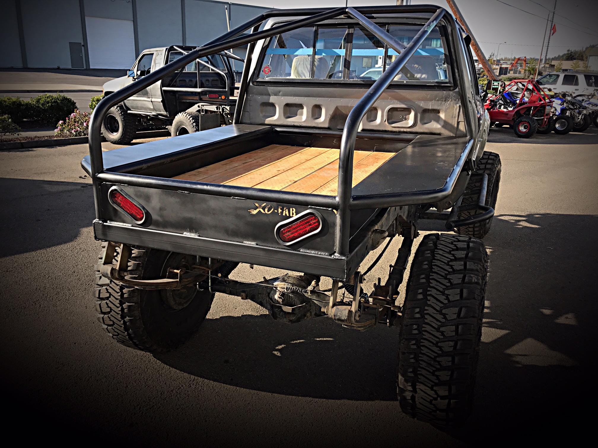 Toyota Diy Flatbed Kit