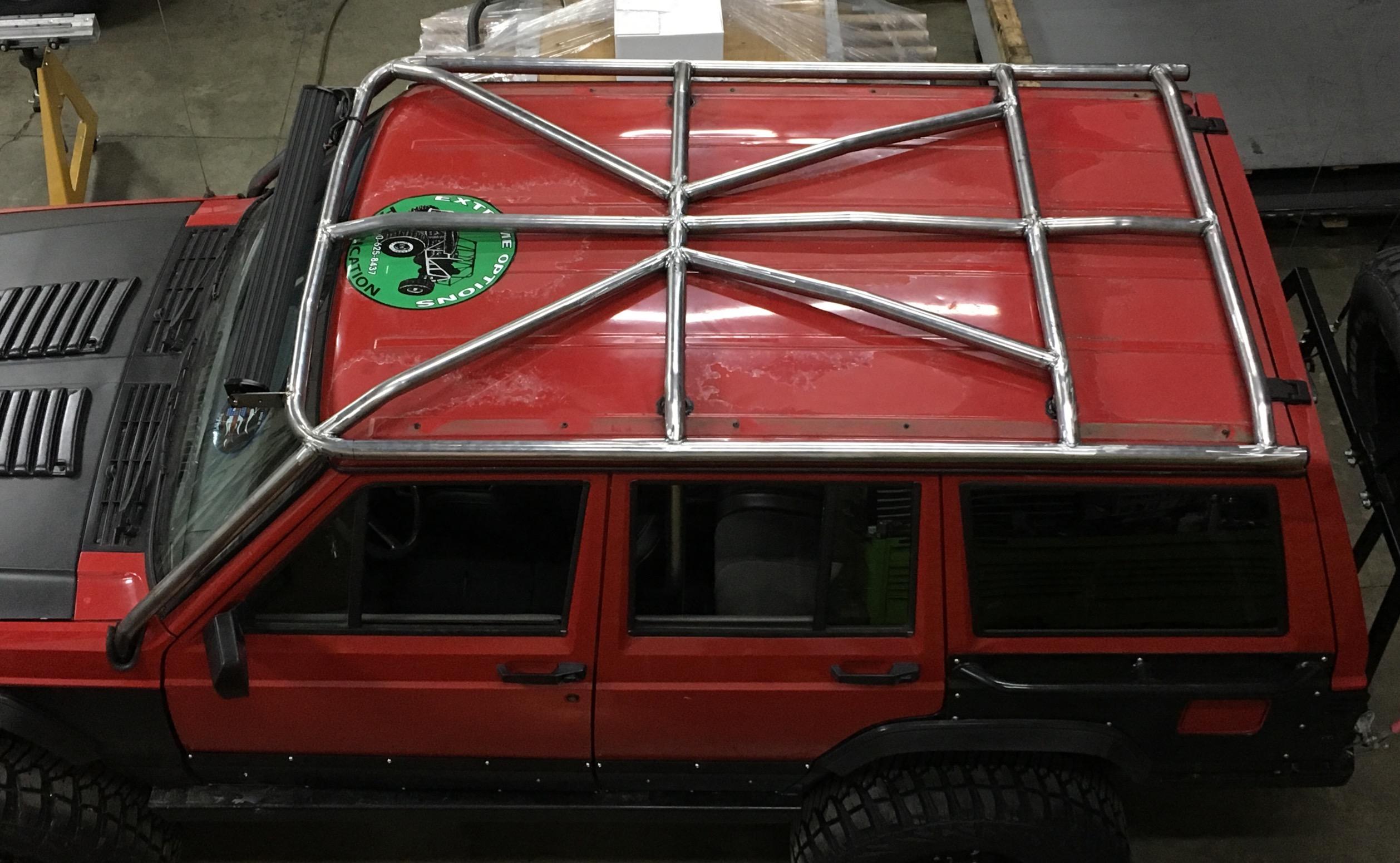 Xj Hybrid Diy Cage Kit Jeep Cherokee Cargo Dimentions