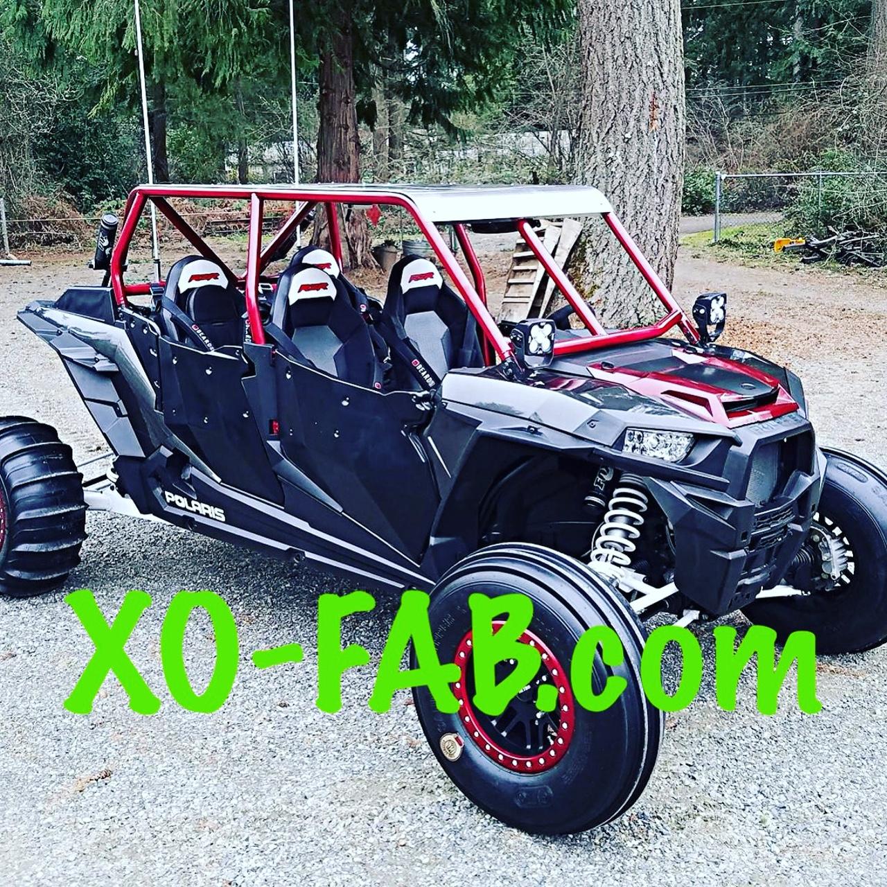 Rzr Xp4 1000 Flat Top Cage Kit
