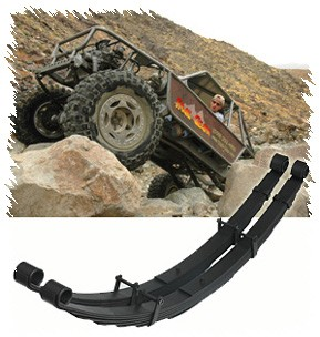 Leaf Spring Kit, Rear, 4''