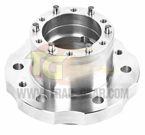 Solid Axle Hubs, Creeper Flange Style (Pair)