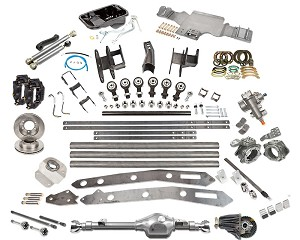Trail-Link 3, Front Sas Kit ''C'', Tacoma, 3.4l, Grizzly, 4.88, 1996-2004