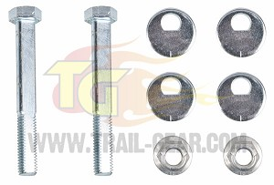 HD Jeep Front Cam Bolt Kit