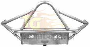 Rock Defense Front Tacoma Bumper, 08-12