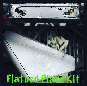 Toyota Flatbed Plate Kit