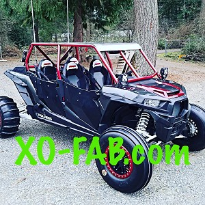 RZR XP4 1000 Flat Top Cage Kit